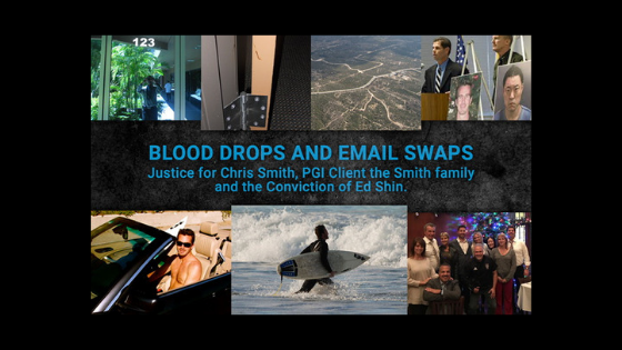 Blood Drops and Email Swaps – Criminal Investigator